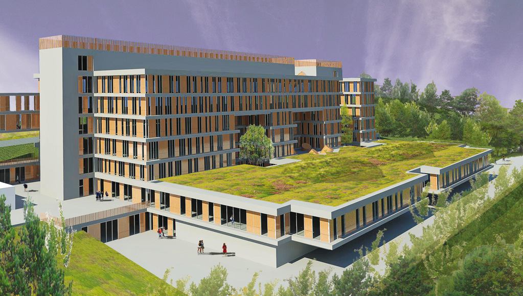 Bureau architecture engineering verhaegen : des architectes au